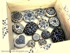 Painted Stones 2 | Flickr - Photo Sharing!