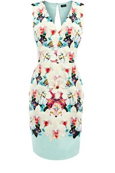 Aliza Print Dress @ Oasis: Tropical garden realness!