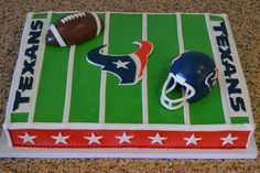 Sugarland Texans Cake