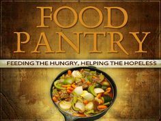 Start a food pantry ministry Food Bank, A Food, Ministry Ideas, Big Project, Church Ideas, Sunday School, Dream Big, Pantry, Community