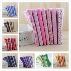 Booksew 8 Sets/lot 7 pieces per set 50cmx50cm Cotton Fabric Bundle Quilting Patchwork Sewing Fabric For Tilda Doll QuiltingTextile DIY