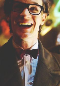This is just beautiful. <3 <3. Matt Smith. I'm gonna miss him