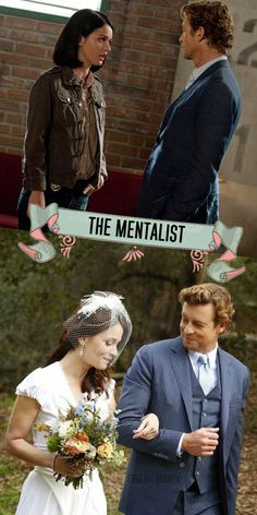 Simon Baker and Robin Tunney as Patrick Jane and Teresa Lisbon