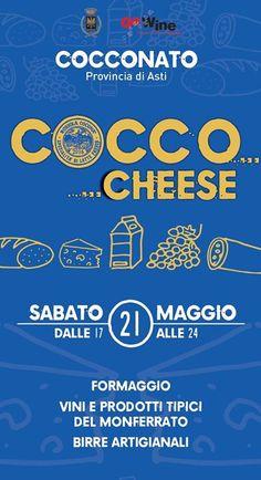 Cocco…Cheese  21 maggio Cocconato (AT) 2016