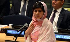 Malala Yousafzai addresses the UN. This would make an excellent close reading assignment. It's from someone their own age, but it will do a lot to broaden the students' understandings. A new perspective.