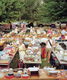 Try these tips and techniques to move more merchandise at your next yard sale.