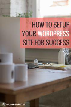 Step-by-step WordPress Tutorial. #sidehustle #websitesetup #freelancing