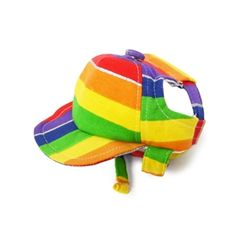 Rainbow Dog Hat, dog Halloween costumes, dog hats, dog caps