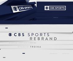 CBS Sports Rebrand. Troika partnered with CBS Sports on their first rebrand in 35 years that debuted at Super Bowl 50. I was asked to make the Concept and Art Direction of the project. I'm glad to see some of my concepts working in the final version. You …