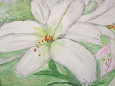 Original Watercolor Mini Painting Greeting Card 5 x by joyceweaver, $6.50