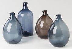Timo Sarpaneva Bird bottles for Iittala.