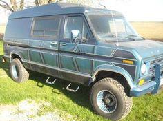 Customised Vans, Custom Vans, Lifted Van, Rv Bus, 4x4 Van, Cool Vans, High Top Vans, Big Trucks, Van Life