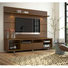 Manhattan Comfort Cabrini 2.2 TV Stand and Panel
