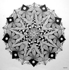 Zentangle - art ( I want to do this on an umbrella!!