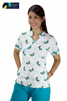 Informe enfermera primaria todos los dias Cute Scrubs Uniform, Scrubs Outfit, Medical Scrubs, Nursing Clothes, Work Attire, Work Wear, Fashion Outfits, Casual, How To Wear