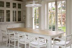 Nordic White - Dining Room Ideas – Decorating, Design & Wallpaper (houseandgarden.co.uk)