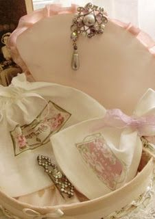 French bags and linens.