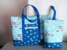 男の子用の通園バッグ・シューズバッグのセットです。通園バッグ…縦30㎝×横40㎝、マチ4㎝ シューズバッグ…縦27㎝&... ハンドメイド、手作り、手仕事品の通販・販売・購入ならCreema。