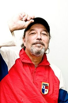 Singer, Lawyer, Composer, Actor, and almost President of Panama. Panamanian Born Ruben Blades.