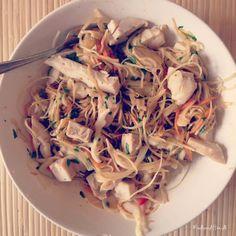 Thai Chicken Salad med hvidkål
