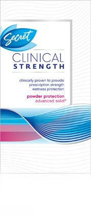 Original Clinical Strength Deodorant/Antiperspirant| available in light and fresh & powder protection