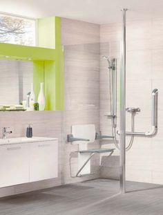 Make disabled showering easier with the Impey Aqua Easy fit Wetroom Base