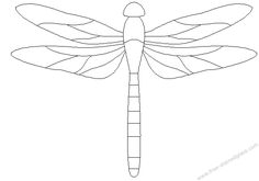 dragonfly stained glass patterns decoration....I would use for an appliqué ...