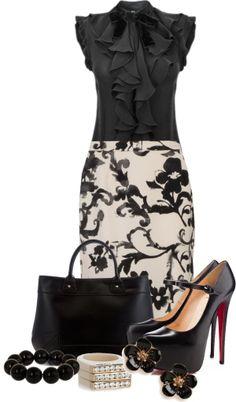 Falda y blusas