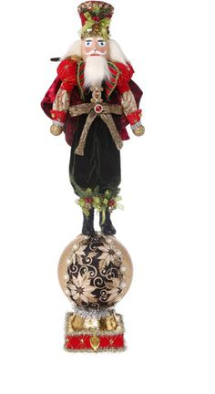 Majestic King Nutcracker Stocking Holder