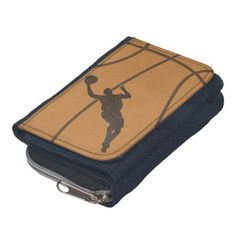Basketball Boy Denim Wallet with Coin Purse.     20% Off All Products - Get Your Holiday Shopping Done!   Ends Tomorrow!   Code:  REASON2CHEER