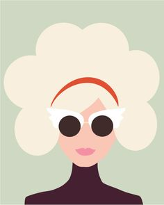 Lisa Procter Pretty Drawings, Art Drawings, Portrait Illustration, Graphic Illustration, Deco Studio, Small Paintings, Art Inspo, Line Art, Vector Art