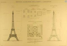 Design Inspiration: The Official Eiffel Tower Blueprints