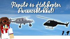 Minecraft - Repülő és Helikopter - Parancsblokkal! [1.9]