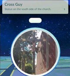 cross-guy-pokemon-stop #memes #christian