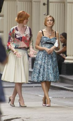 Pin for Later: 43 Style Lessons We Learned From Carrie Bradshaw Classic Is Always in Style