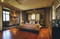 valencia residence, kuala lumpur by Allegro Design tropical bedroom