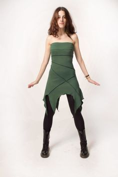 Pixie dress faery dress elven clothing elven by AbstractikaCrafts