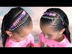Girl Hair Dos, Girl Hairstyles, Manicure, Braids, Hair Styles, Cute, Youtube, Samara, Videos