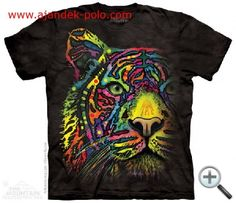T-Shirts The Mountain Rainbow Tiger Cat Bengal Dean Russo Zoo Animals T Tee Shirt