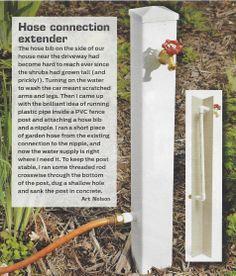 High Quality Garden Spigot Extender | Faucet Garden Hose Extender (10 Ft.   22 In. High  Stake)   Sportyu0027s ... | YARD | Pinterest | Garden Ideas, Gardens And Yards