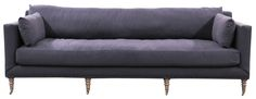 Four Hands Living Room Sofa-Navy Quilt560