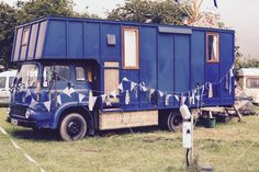 Tom, Sally and Faery Wolfe live in this house truck in Chester, UK. The idea was to strip an old bedford bus down, then rebuild it into a rolling tiny house....