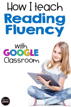 Reading Fluency Activities, Practice, Progress Monitoring and Assessment for 3rd 4th or 5th grade. This digital resource for Google Drive or set up as an engaging virtual literacy center for struggling readers in upper elementary. These would be great for individual reading fluency practice fluency intervention for special education in distance learning and remote teaching in your virtual bitmoji Google Classroom and online lesson plans.