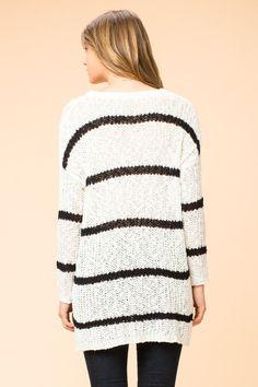 Stripes on My Mind Sweater #JessLeaBoutique