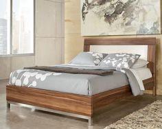 Modern Platform Bed $429