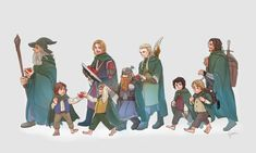 Gandalf, Lord Of The Rings, The Hobbit, Elves, Fictional Characters, Art, Art Background, Kunst, The Lord Of The Rings