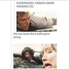 So accurate! Finnick Odair / The Hunger Games / Catching Fire Hunger Games Memes, Hunger Games Cast, Hunger Games Fandom, Hunger Games Catching Fire, Hunger Games Trilogy, Catching Fire Funny, Katniss Everdeen, Jennifer Lawrence, Tribute Von Panem