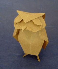 origami owl  | Gilad's Origami Page: Origami Birds - Owls 1