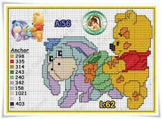 Dot Magic: Disney Graphics Pooh Turminha.