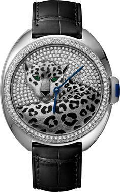 Clé de Cartier Panther décor watch